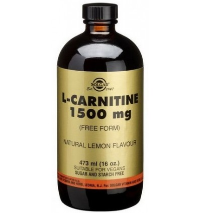 L- CARNITINA 1500MG 473 ML SOLGAR