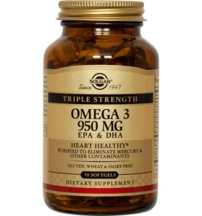 OMEGA-3 50PER TRIPLE STR SOLGA