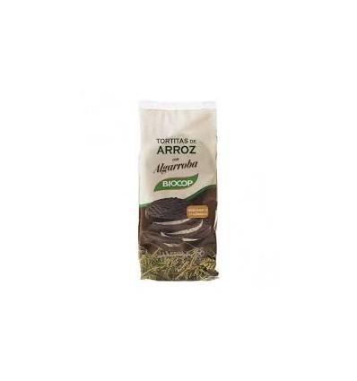 TORTITAS ARROZ C/50% ALGARROBA 100g BIOCOP