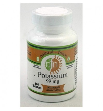 POTASIUM 99 MG NATURAL FORCE