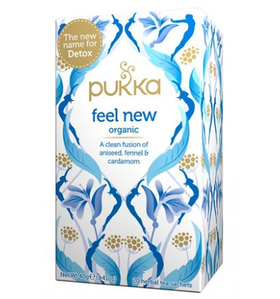PUKKA FEEL NEW 20saq (ANTES DETOX)