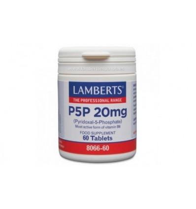 P5P 20mg 60 comp LAMBERTS