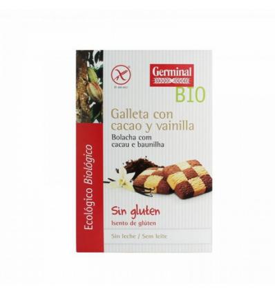 GERMINAL GALLETA CACAO Y VAINILLA 250G.